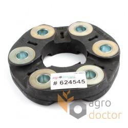 Гумова муфта 624545 трансмісії комбайна Claas - 65х160мм [Jurid]