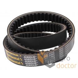 Variable speed belt 45J2222 [Continental AGRIDUR]