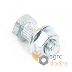 Segment bolt М6х16 with nut - 187001200 Claas [SCH]