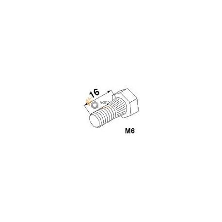 Segment bolt М6х16 with nut - 187001200 Claas [SCH]