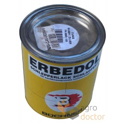 Dark gray paint for Claas combines 750 ml [Erbedol]