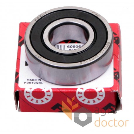 6203-2RSR-C3 [FAG] Deep groove ball bearing