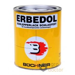 Black paint 0.75L for Case IH combine [Erbedol]