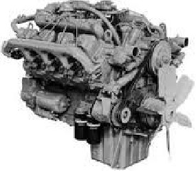 Diesel Engine PERKINS V8.605
