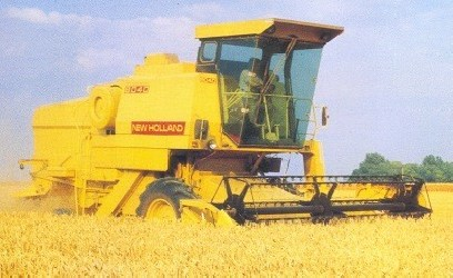 Combine harvester NEW HOLLAND Clayson 8030, 8050