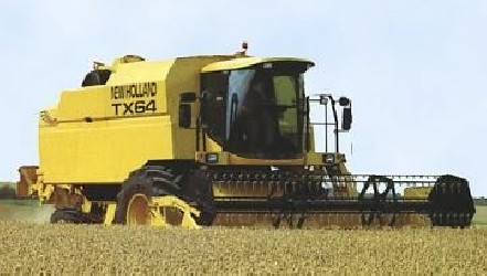 Combine harvester NEW HOLLAND TX62 - TX65