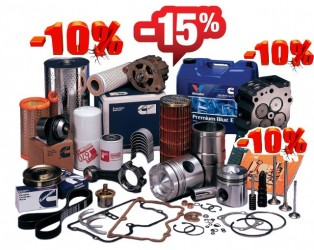 10% March discount on everything and 15% on elevators, chains and links *
