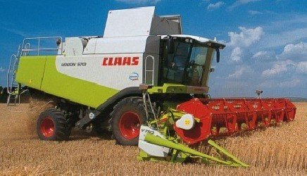 Combine harvester CLAAS LEXION 570-580