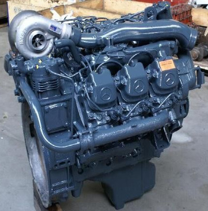 The Diesel Engine Manufactured By Mercedes Benz Is A Four Stroke With A  Volume Of 9572 Cubic Centimeters, Corresponding To Approximately 575 Cubic  Inches.
