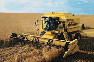 Combine harvesters NEW HOLLAND TX66 - TX68